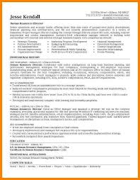 Director Of Human Resources Resume 7 Human Resources Manager Resume Write Memorandum