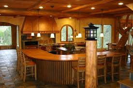 Colorado Kitchen Design by Kitchens In Rustic Colorado Style For Mountain And Log Or Timber