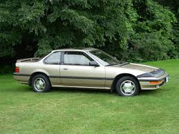 gold 1989 honda prelude si 4ws four wheel steering edition my
