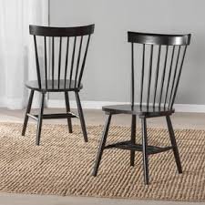 kitchen dining chairs black kitchen dining chairs you ll love wayfair