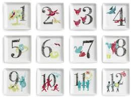 12 days of plates dinnerware and gifts webnuggetz