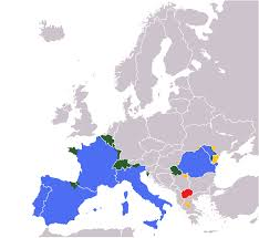 Interactive Europe Map by Romance Speaking Europe Wikipedia