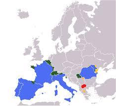 Spanish Speaking Countries Map Romance Speaking Europe Wikipedia
