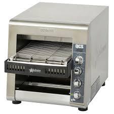 Conveyor Toaster For Home Star Qcs3 1000 Conveyor Toaster 1000 Slices Hr W 14