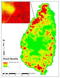 Saint Lucia Map Road Density Versus Population Density U2013 Saint Lucia Pete U0027s Thoughts