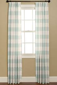 Blue Buffalo Check Curtains Buffalo Check Curtain Panels