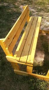 pallet picnic table and benches 99 pallets