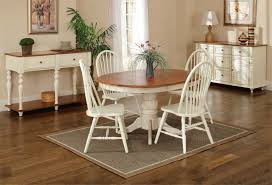 breakfast table tei solid wood round breakfast table and chairs ogle furniture