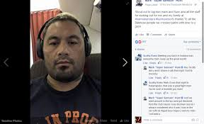 Samoan Memes - mark hunt recognizes facebook fan he met 6 years ago immediately