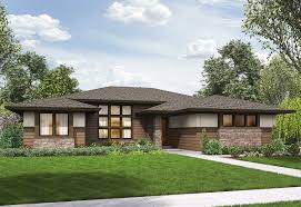 3 bed modern prairie ranch house plan 69603am architectural