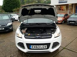 used frozen white ford kuga for sale gloucestershire