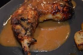 cuisiner des cuisse de poulet cuisses de poulet laquées au miel orange et moutarde sevencuisine