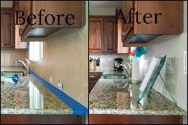 how to degrease backsplash how to install smart tiles with tinged blue