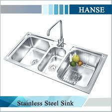 commercial kitchen sinks 3 compartment sink throughout plans 4