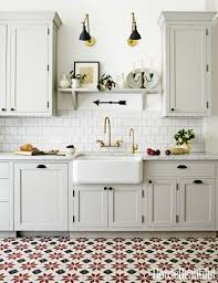 white cabinets with dark floor kitchen sharp home design