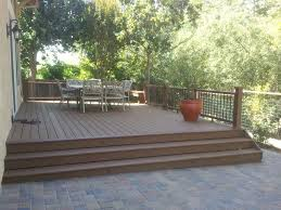 Composite Patio Pavers by Decks Deome2 Builders Sacramento Deck Contractor