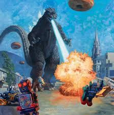 Murals Your Way by Godzilla Mural Dinosaur Murals Pinterest Dinosaur Pictures