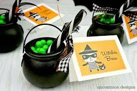 witches brew halloween treats uncommon designs
