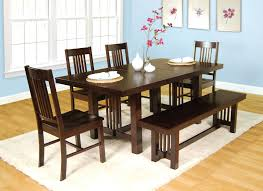 dark brown dining furniture wondrous dining table bench in natural