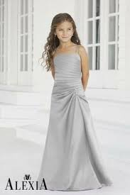 jr bridesmaids dresses silver grey junior bridesmaid dresses wedding dresses