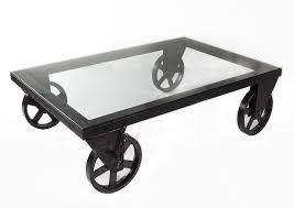 Glass Coffee Table With Wheels Fabulous Glass Coffee Table Wheels On Interior Home Design Style