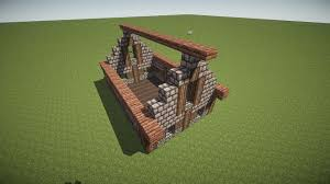 How To Build A Small House by Minecraft Brick House Roof Best Roof 2017