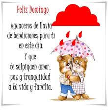imagenes de amor para el domingo fell domingo aguaceros de lluvia de bendiciones para ti id en este