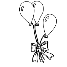 curious george balloons coloring page printable pages of air