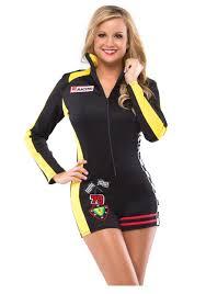 Halloween Costume Race Car Driver Womens Race Car Costume