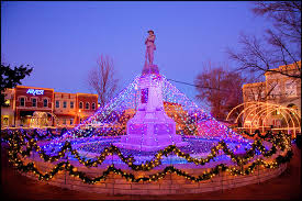 fayetteville square christmas lights bentonville square bentonville ar the bentonville square