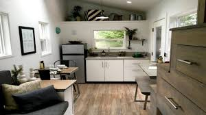 MidCentury Modern Tiny Home Small House Interior Design Ideas - Modern interior design for small homes