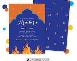 lohri invitation cards lohri invitation his hers