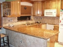 adorable u shape modern kitchen featuring brown wooden kitchen