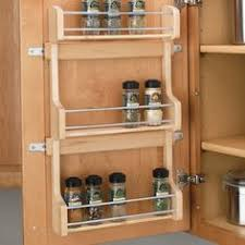 Kitchen Cabinet Door Storage Simplify Your Organization Hold Your Spices In Places On A Shelf