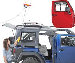 jeep wrangler top removal makes removing storing a hardtop an easy one person rugged