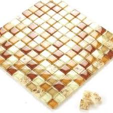 Wholesale Glass Mosaic Tile Squares Red Rose Pattern 304 by Glass Mosaic Tile Murals Black Or Red And Gold Crystal Backsplash