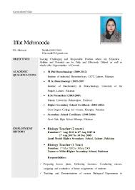 Resume Samples Driver Position by Sample Resume For Biology Degree Cover Letter Examples Science