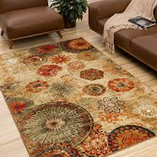 Mohawk Area Rugs 5x8 Mohawk Home Strata Caravan Medallion Area Rug Altmeyer S Bedbathhome