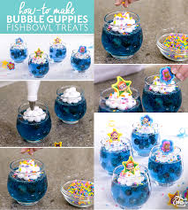birthday ideas guppies party food ideas brownie bites