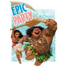 moana birthday party supplies theme party packs