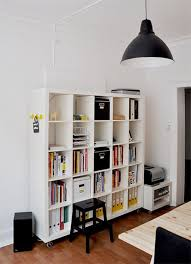White Modern Bookshelves by Furniture Rectangle White Modern Portable Bookshelves On Wheels