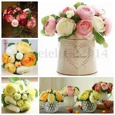 Artificial Peonies Peony Flowers Ebay