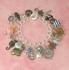 charm bracelet designs images Nautical theme charm bracelet playbox designs jpg