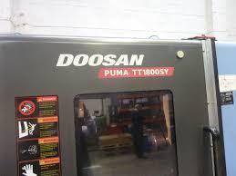 doosan puma tt1800sy 2011 fanuc 31i control 1st machinery