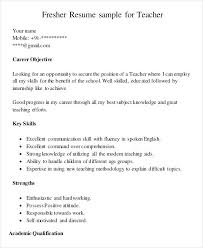 resume format for freshers microsoft word 2007 new teacher resume template fresher sle templates microsoft