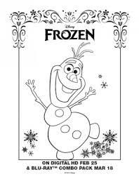disney frozen coloring pages olaf sven free coloring pages