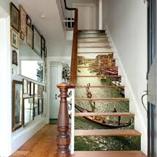 wall ideas basement stair wall decorating ideas curved staircase