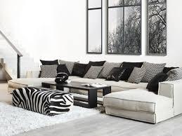 canapé d angle contemporain en tissu 4 places pacha ph