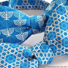 hanukkah tie hanukkah menorah bow tie