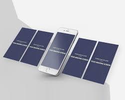 download iphone app screens mockup psd at downloadmockup com